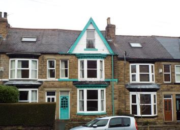 Thumbnail 4 bed terraced house for sale in Marlcliffe Road, Sheffield, South Yorkshire