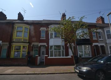 Thumbnail 4 bedroom terraced house to rent in Stuart Street, West End, Leicester