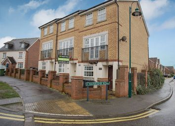 Thumbnail 3 bed town house for sale in Hargate Way, Hampton Hargate, Peterborough, Cambridgeshire.