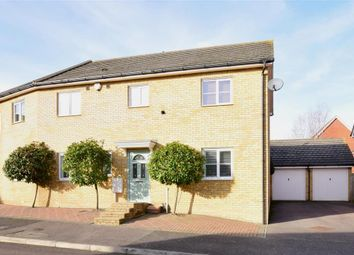 Thumbnail 4 bed semi-detached house for sale in Belfry Drive, Hoo, Rochester, Kent