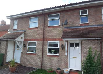 Thumbnail 2 bed terraced house to rent in Parkers Close, Wymondham, Norfolk