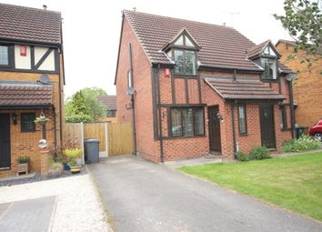 Thumbnail 2 bed semi-detached house to rent in Eaton Close, Hatton, Derby
