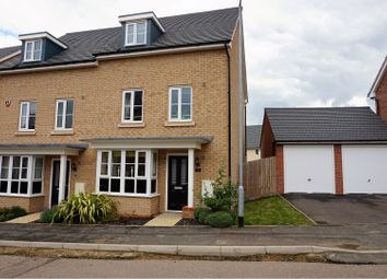Thumbnail 4 bedroom semi-detached house for sale in Summers Hill Drive, Papworth Everard Cambridge