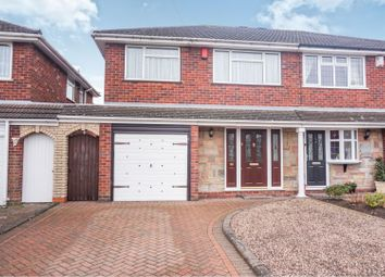 Thumbnail 3 bedroom semi-detached house for sale in Morville Road, Dudley
