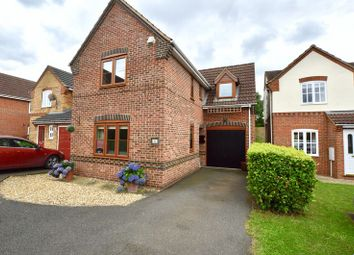 Thumbnail 3 bed detached house for sale in Marigold Close, Stamford