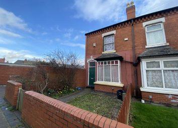Thumbnail 2 bed end terrace house for sale in Hagley Villas, Taunton Road, Balsall Heath, Birmingham