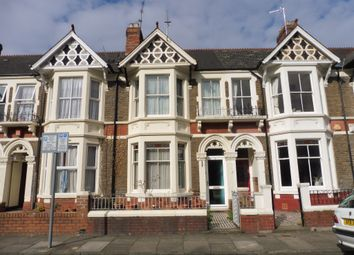Thumbnail 4 bed terraced house for sale in Werfa Street, Roath, Cardiff