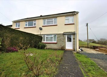Thumbnail 3 bedroom semi-detached house for sale in Brongwinau, Comins Coch, Aberystwyth