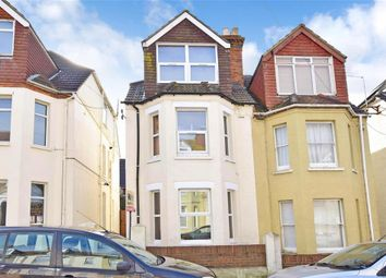 Thumbnail 4 bed semi-detached house for sale in Linden Crescent, Folkestone, Kent