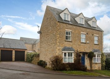 Thumbnail 4 bed detached house for sale in Lawrence Fields, Bicester, Oxfordshire