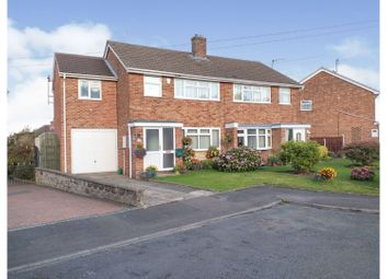 4 bed semi-detached house for sale in Highfield Close, Outwoods, Burton-On-Trent DE13
