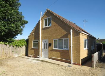 Thumbnail 2 bedroom detached house for sale in Field Avenue, Tydd St. Giles, Wisbech
