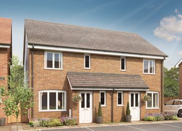"Thumbnail 3 bedroom semi-detached house for sale in ""The Hanbury"" at Stane Street, Billingshurst"