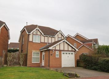 Thumbnail 3 bedroom detached house for sale in Thirlington Close, Windsor Gardens, Newcastle Upon Tyne
