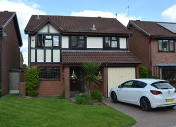 Thumbnail 4 bed detached house for sale in Pennymore Close, Stoke-On-Trent