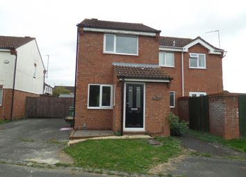 Thumbnail 1 bedroom semi-detached house to rent in Lower Meadow, Quedgeley