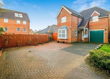 Thumbnail 3 bed detached house for sale in St Ives Crescent, Tattenhoe, Milton Keynes