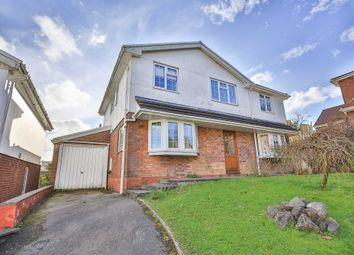 Thumbnail 4 bedroom detached house for sale in Graigwen Parc, Graigwen, Pontypridd