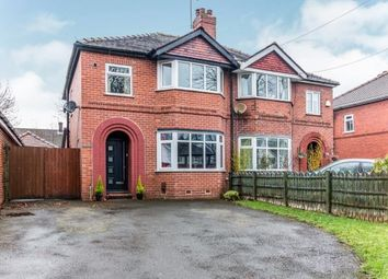 Thumbnail 3 bed semi-detached house for sale in Manor Avenue, Sale, Manchester, Greater Manchester