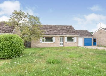 Thumbnail 2 bed detached bungalow for sale in Cressingham Road, Ashill, Thetford