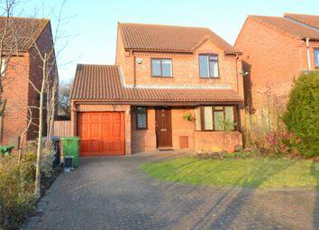 Thumbnail 3 bedroom detached house to rent in Cornwallis Drive, Eaton Socon, St Neots, Cambridgeshire
