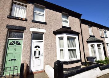 Thumbnail 3 bed terraced house to rent in Belmont Road, Wallasey, Merseyside