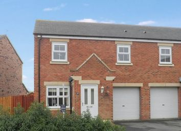 Thumbnail 3 bedroom semi-detached house for sale in Beaumont Court, Pegswood, Morpeth