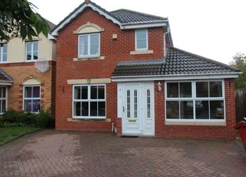 Thumbnail 4 bed detached house to rent in Kestrel Crescent, Droitwich Spa