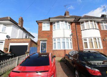Thumbnail 3 bed semi-detached house for sale in Sundown Avenue, Dunstable