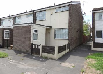 Thumbnail 2 bedroom end terrace house for sale in Norcross Close, Offerton, Stockport