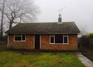 Thumbnail 2 bedroom detached bungalow for sale in Long Lane, Bracon Ash, Norwich