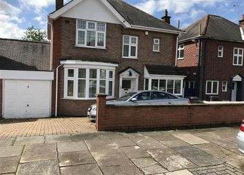Thumbnail 3 bed detached house for sale in Kingsway Road, Leicester
