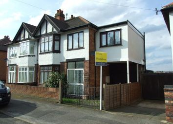 Thumbnail 4 bedroom semi-detached house for sale in Exton Road, Nottingham, Nottinghamshire