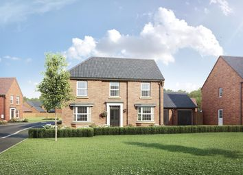 "Thumbnail 4 bed detached house for sale in ""Eden"" at Station Road, Warboys, Huntingdon"