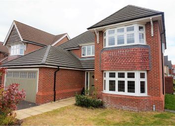 Thumbnail 4 bed detached house for sale in Aster Drive, Stafford