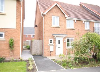 Thumbnail 4 bedroom end terrace house to rent in Hazelmere Avenue, Buckshaw Village, Chorley