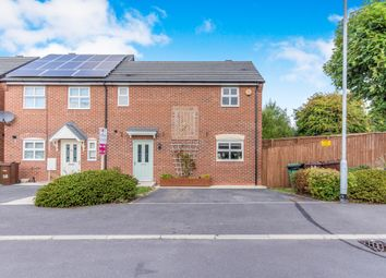 Thumbnail 2 bed semi-detached house for sale in Beamshaw Close, Castleford