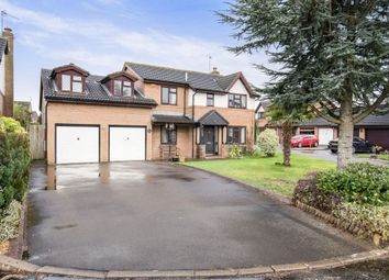 Thumbnail 6 bed detached house for sale in Vicarage Gardens, Marshfield, Cardiff