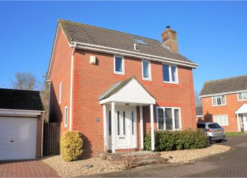 Thumbnail 5 bedroom detached house for sale in Russley Close, Swindon