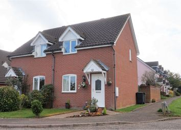 Thumbnail 2 bed semi-detached house for sale in Broad Meadow, Bury St. Edmunds