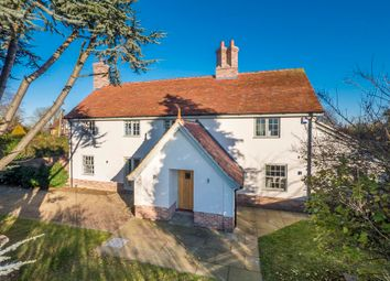 Thumbnail 5 bed detached house for sale in Newton, Sudbury, Suffolk
