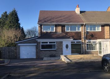 Thumbnail 3 bed end terrace house for sale in Rosefield Gardens, Uddingston, Glasgow