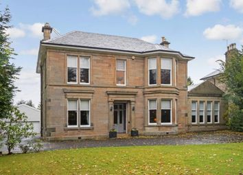 Thumbnail 4 bed detached house for sale in Peel Road, Thorntonhall, South Lanarkshire, Scotland