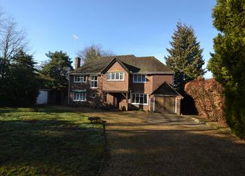 Thumbnail 4 bed detached house for sale in Coxheath Road, Church Crookham, Fleet