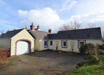 Thumbnail 2 bed bungalow for sale in Meadow View, Chapel Road, Dwrbach, Fishguard