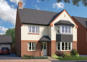 "Thumbnail 5 bed property for sale in ""The Oxford"" at Pear Tree Meadows, Queen's Drive, Cheshire, Nantwich"