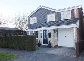 Thumbnail 4 bed detached house for sale in Frome Place, Cramlington
