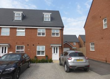 Thumbnail 3 bed town house for sale in Fuller Way, Andover
