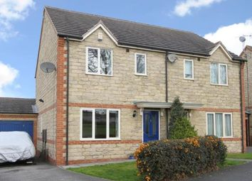 Thumbnail 3 bedroom semi-detached house for sale in Lansbury Avenue, Mastin Moor, Chesterfield, Derbyshire
