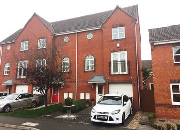 Thumbnail 3 bed terraced house for sale in Harker Drive, Coalville